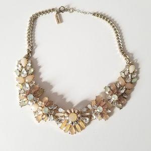 Gold Pastel Statement Necklace